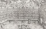 Litografia del Museo di Ferdinando Cospi a Verona (1677)